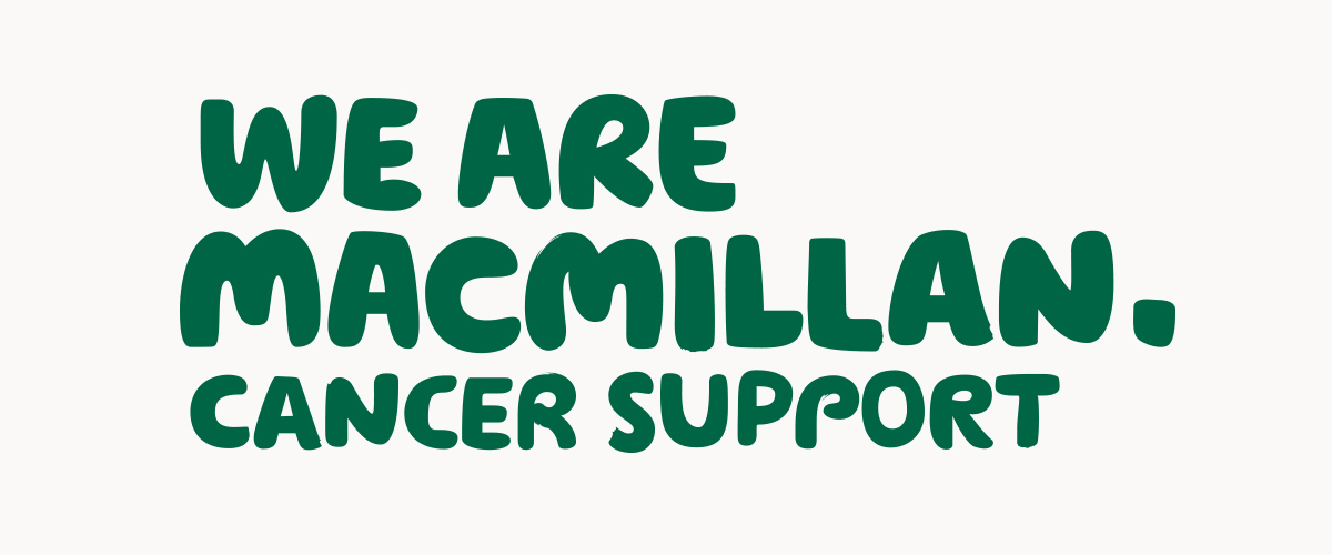 We are Macmillan Cancer Support